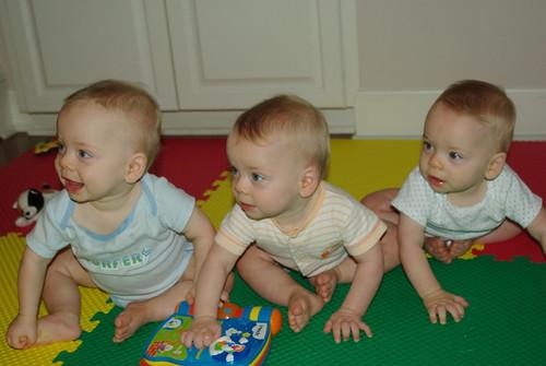 Triplets - 8-25-2008 015