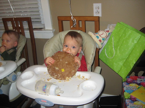 Miles ate the whole thing!
