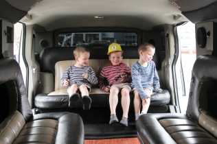 In the stretch Hummer