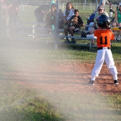 At bat!
