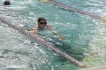 Maggie swimming