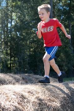 Miles ran to