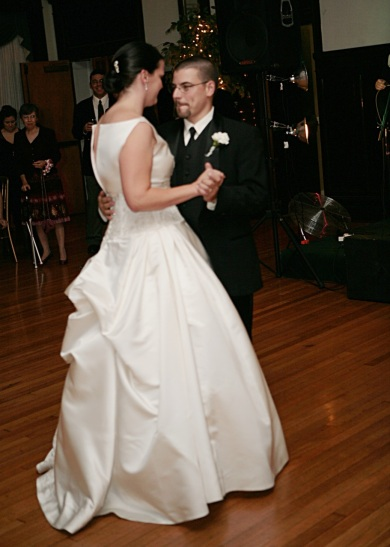 The most uncomfortable first dance in history.