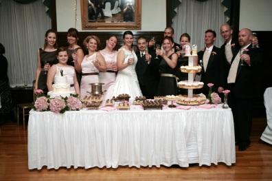 I call this the Mafia wedding picture