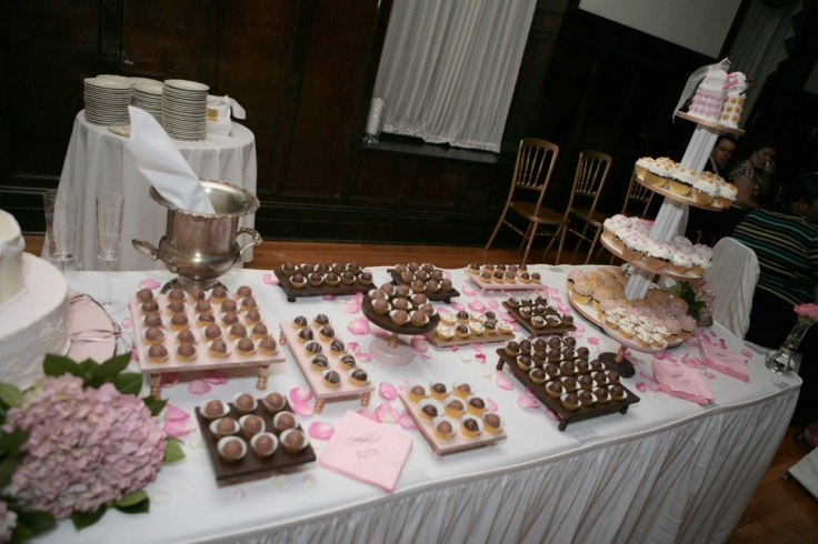The cake table. So much delicious.