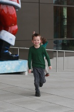 Linus running