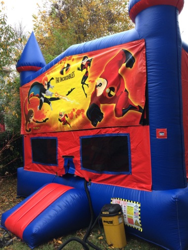 The giant bounce house