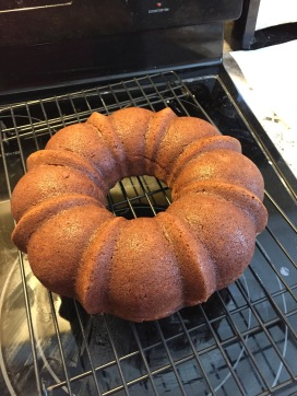 My date cake came out of the bundt pan perfectly.