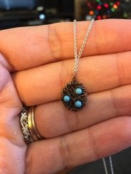The necklace George gave me. Love it!