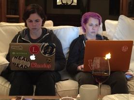 Zandy and Deborah