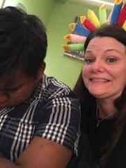 Prasath couldn't handle my birthday fun!