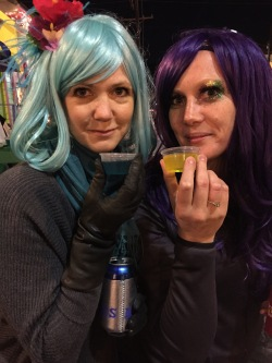 Wigs and Jello shots.