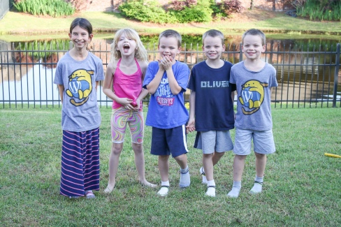 Ellie, Emily, Linus, Oliver, Miles