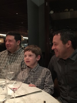 Whitman with his dad and uncle