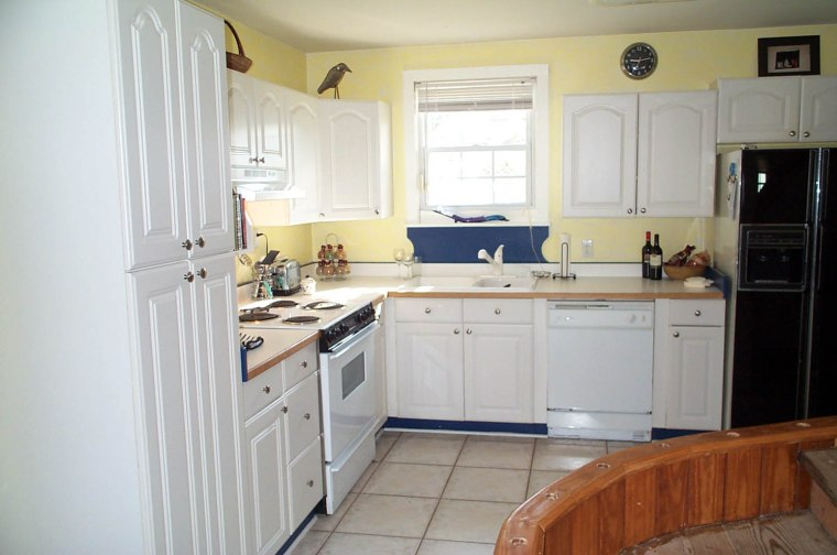The kitchen, back in the day.