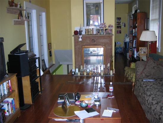 Living room, pre-kids.