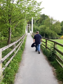 The bridge to Portinscale