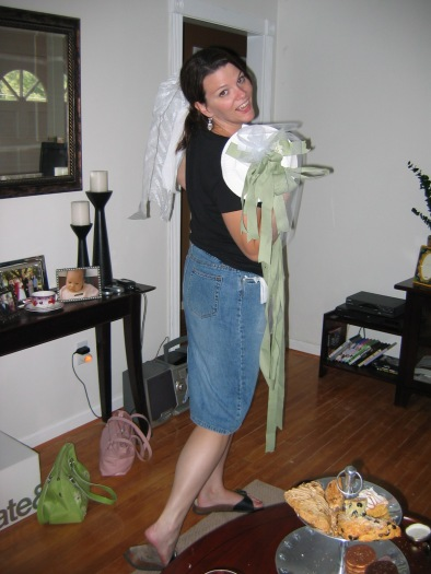 My delayed bridal shower in Virginia.