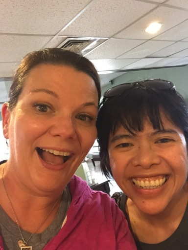 Me and my great coworker Marjorie