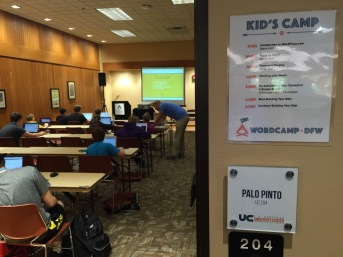 Kids Camp! I love this idea. Totally doing this next year.