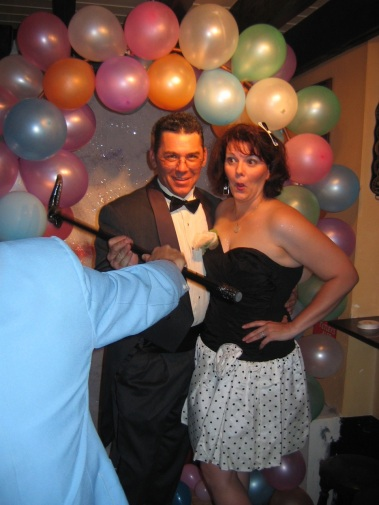 At the pub prom in 2006.