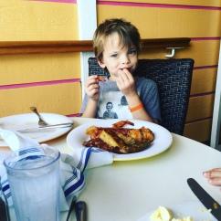 Breakfast gluttony
