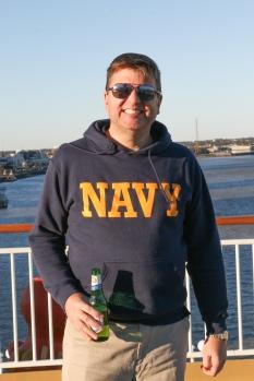 Rob Thomas, ready to sail!