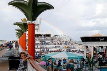 Rainbow after photos