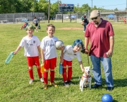 April 23 - With Ziggy before the last game.