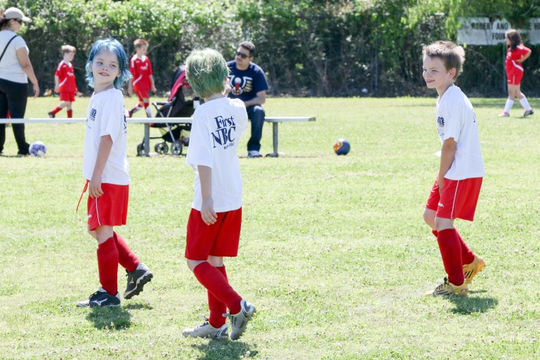 April 23 - Last soccer game!