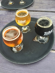 Beer tasting at Zilker Brewery
