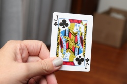 It's a secret! I have the jack of clubs!
