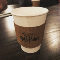 Hot butterbeer!