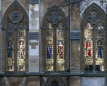 The windows of Westminster Abbey