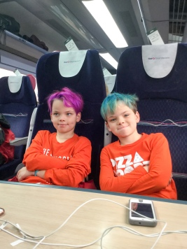 Orange boys