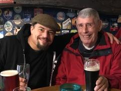 George and Gareth's dad, Colin