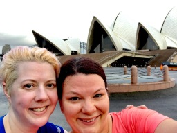 We ran to the Opera House