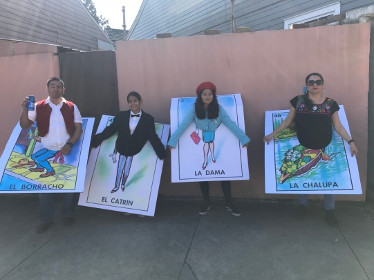 Terry's family's amazing loteria costumes