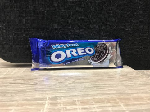 These oreos on the other hand, are only mildly sweet.