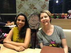 Kruti and Linus and Deborah!