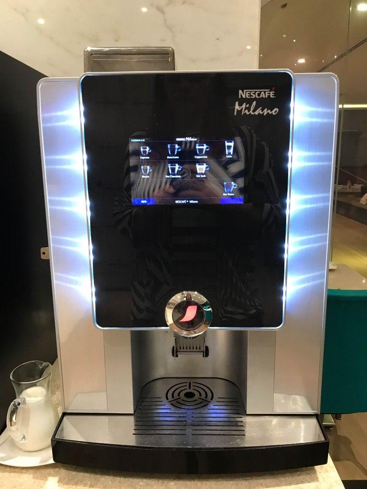 The magic coffee machine