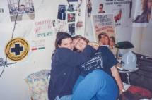 Us in that room, 25 years previously.