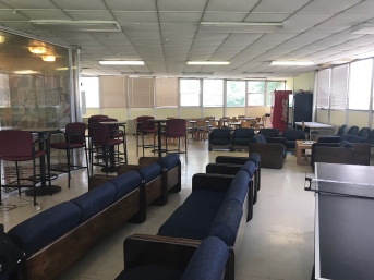 The common area. Same sofas and chairs, just recovered.