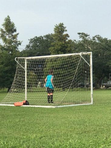 Goalie-ing