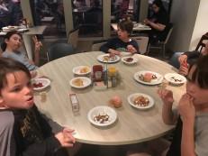 Kids eating alllll the desserts