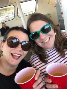 Ferry mimosas
