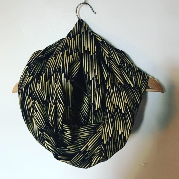 Black and gold Art Deco - $22