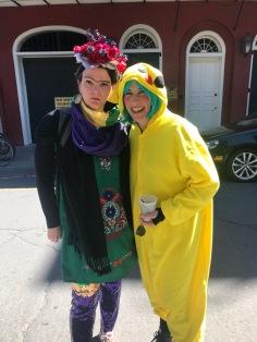 Frida and Pikachu
