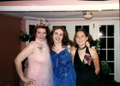 Me, Kristie, Ann in 1996 or so